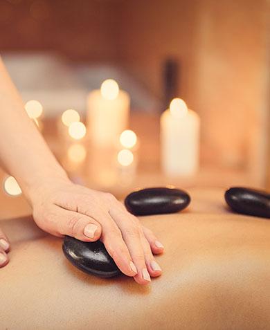 soin Germe la vie massage aux pierres chaudes